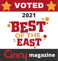 Voted 2021 Best of the East - Cincy Magazine